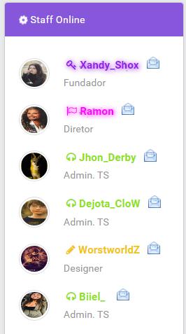 Widget Staff Online Dd10