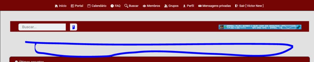 phpbb3 - Adicionar barra de pesquisa e outras informações no topo do fórum Fefefe10