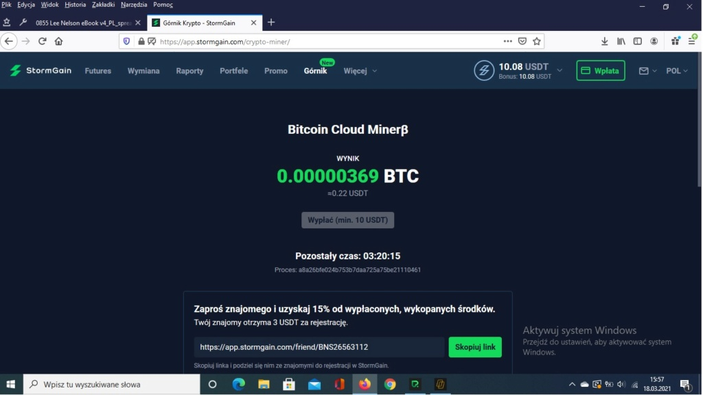 StormGain - zarób swoje pierwsze bitcoiny:D :D :D  Storm10