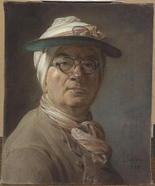 """""""En société"""", pastels du Louvre des XVII et XVIIIe siècles Chardi10"""