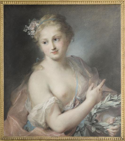 """""""En société"""", pastels du Louvre des XVII et XVIIIe siècles Rosalb10"""