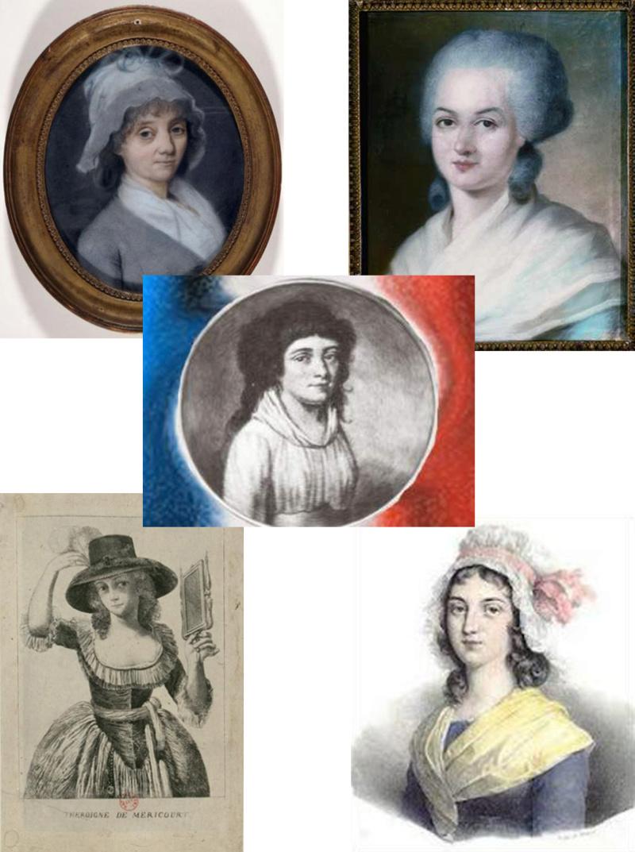 Cinq femmes actrices de la révolution française Vignet10
