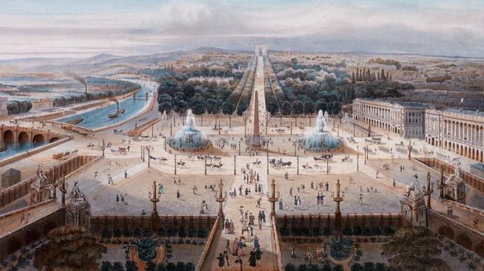 Histoire des Champs Elysées Xvm14210