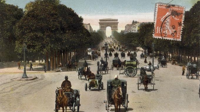 Histoire des Champs Elysées Xvm62110