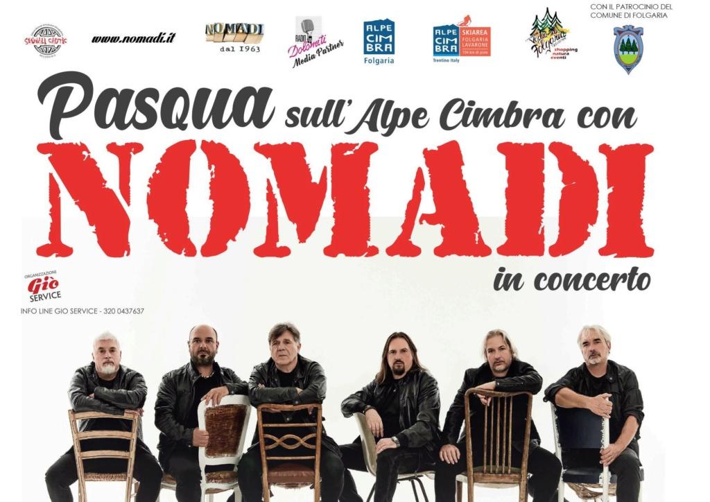 Pasqua sull'Alpe Cimbra con i Nomadi in concerto Palaghiaccio Nomadi11