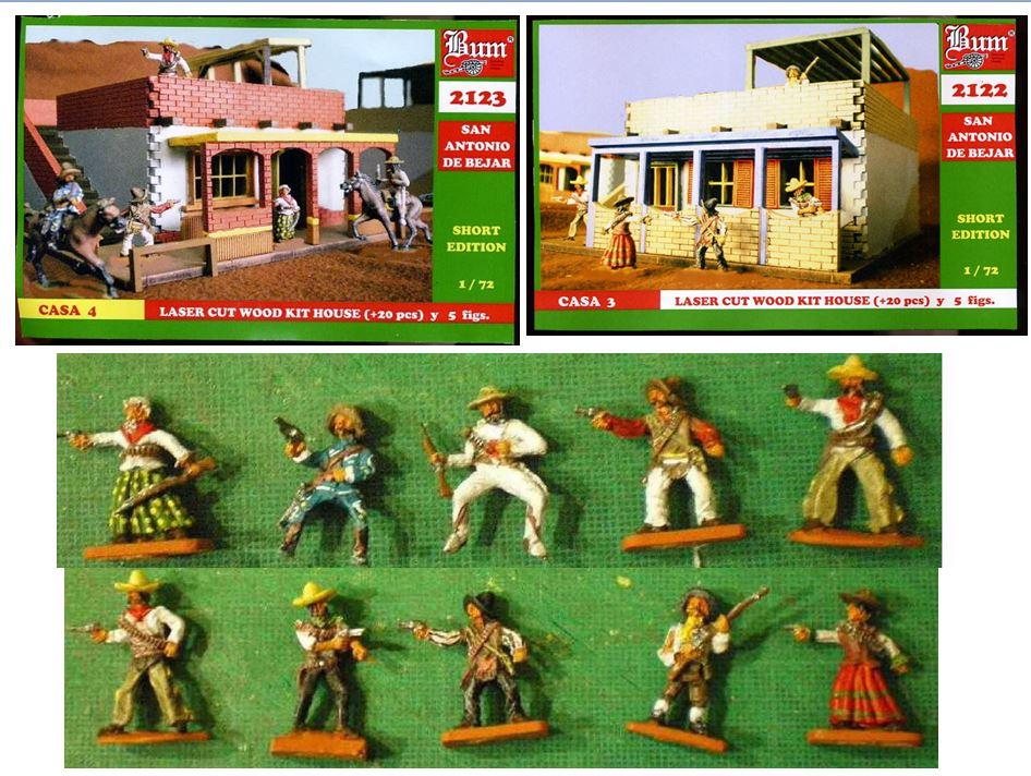 Mexicains avec sombreros!  Mex211