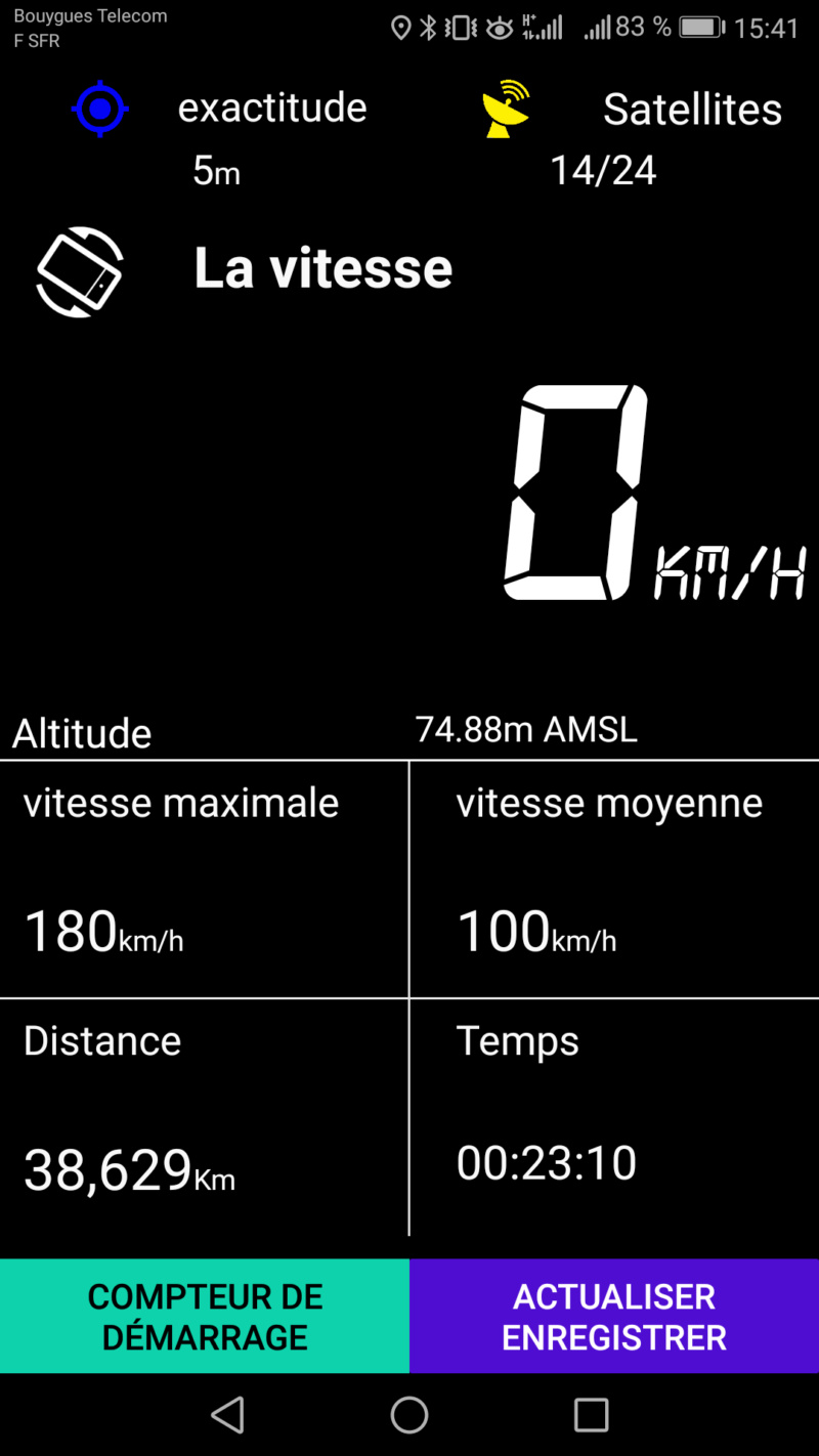 Street Twin à 180 km/h Screen10