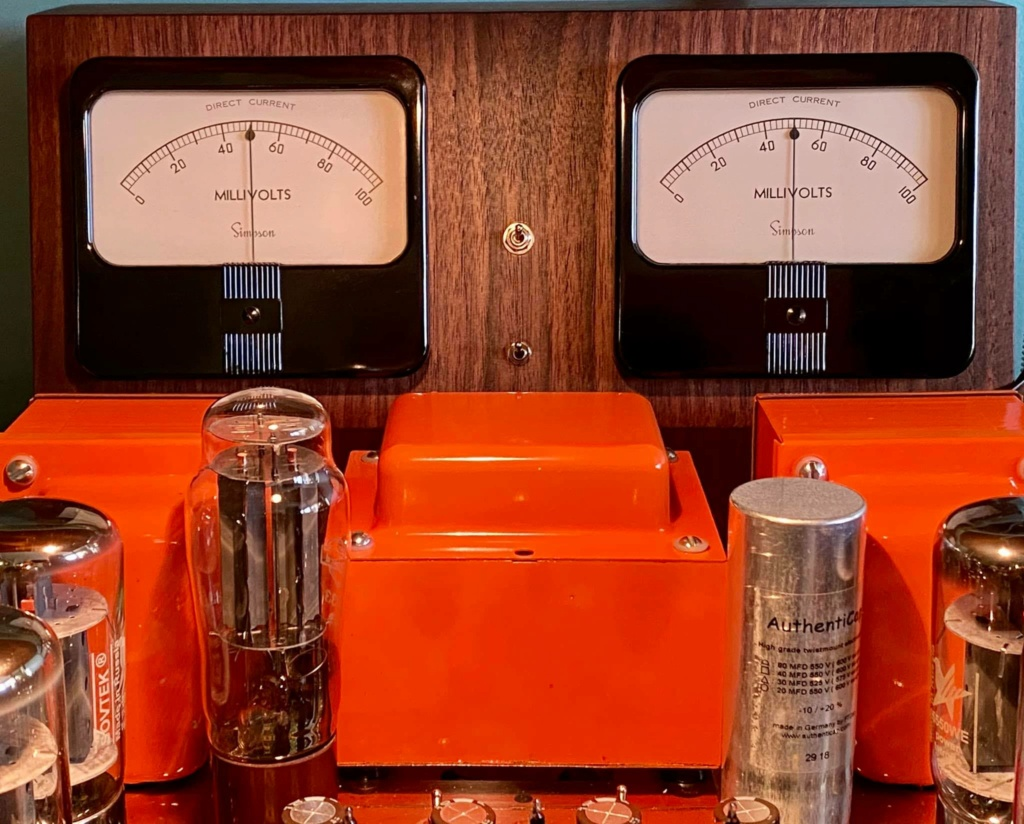 Analog Bias Meters For The VTA ST-120 Meters10