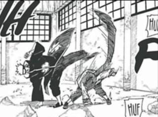 No cerco que Jiraiya estava contra Pain... Qual seria o desempenho destes? 20200363