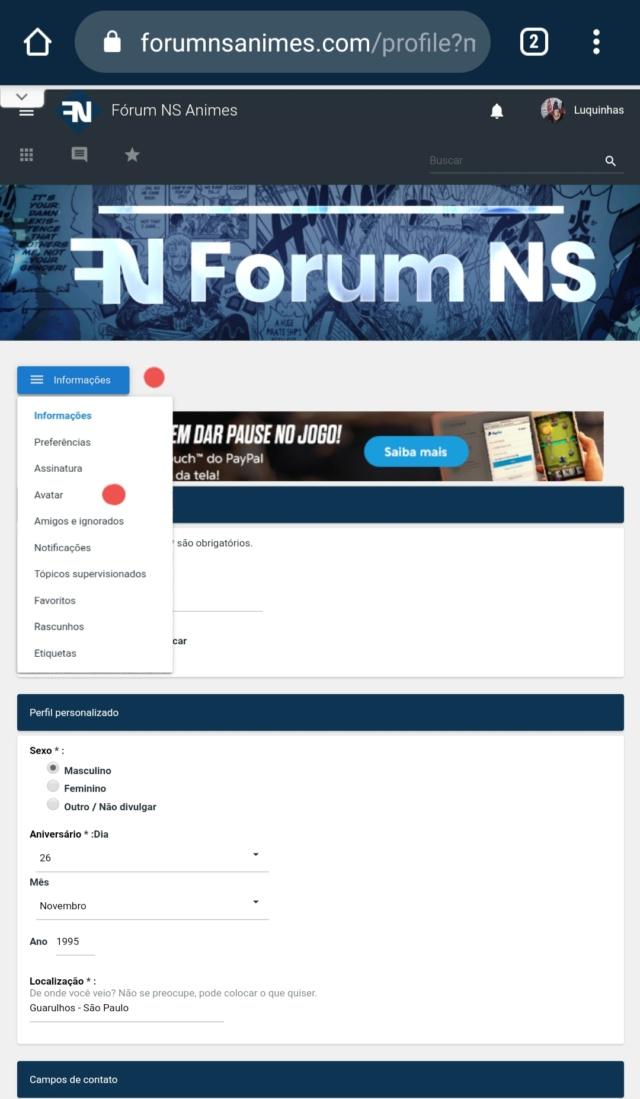 Nova atualização do fórum! Tópico para feedback. - Página 2 20200722