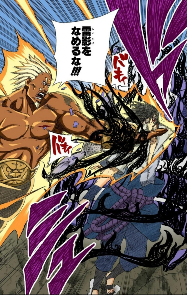 Sasuke vs Yondaime Raikage  20201018
