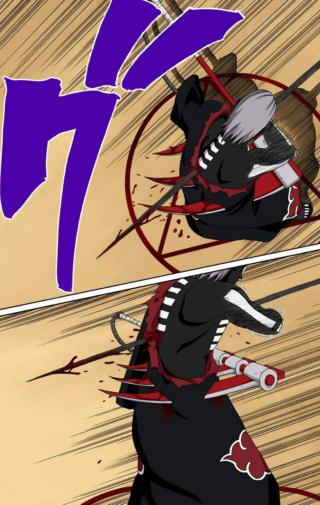 Kakashi Hokage vs Hidan Img-2423