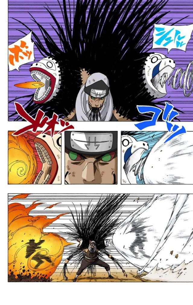 Hiruzen vs Kakuzu e Hidan Recei535