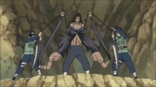 Orochimaro Vs Kakuzu  ,Hidan e Konan  Screen28