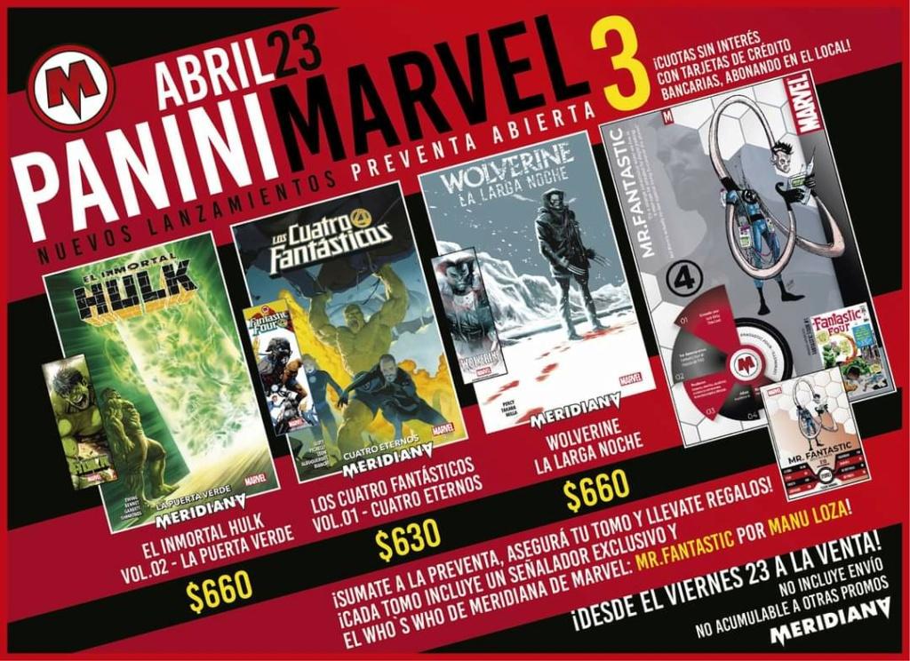 1-6 - Marvel Panini Latam / Argentina - Página 21 Fb_img51