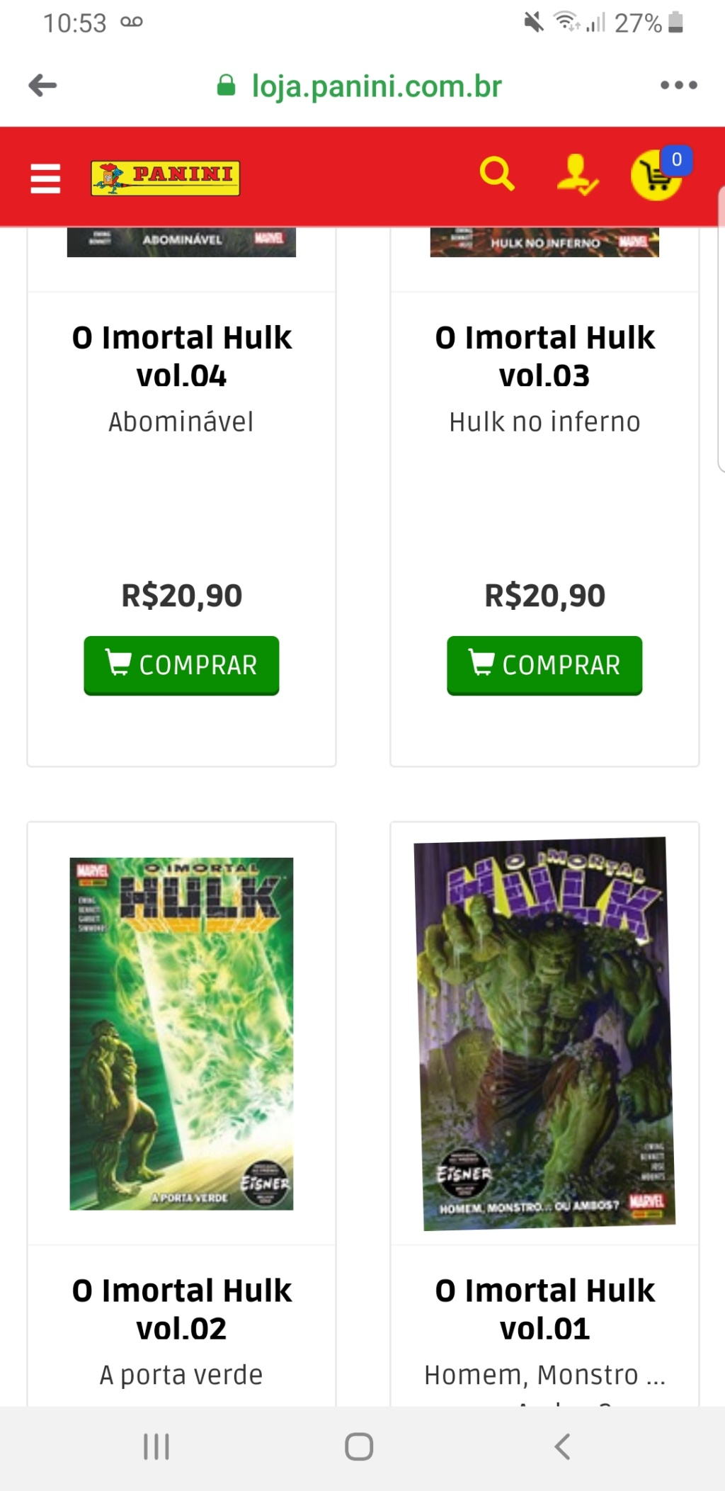 1-5 - Marvel Panini Latam / Argentina Screen26