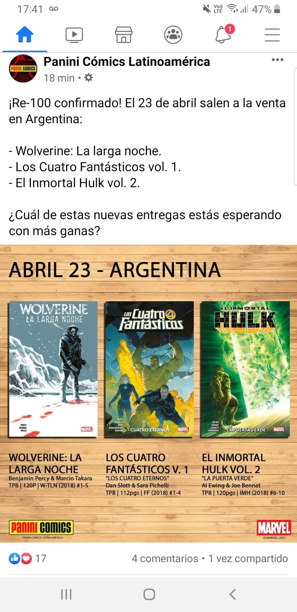 1 - Marvel Panini Latam / Argentina - Página 20 Screen46