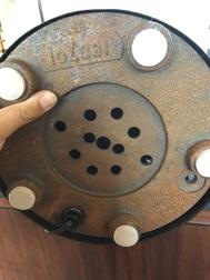 ID Table Lamp with tubular arm and mushroom shade? Img_6710