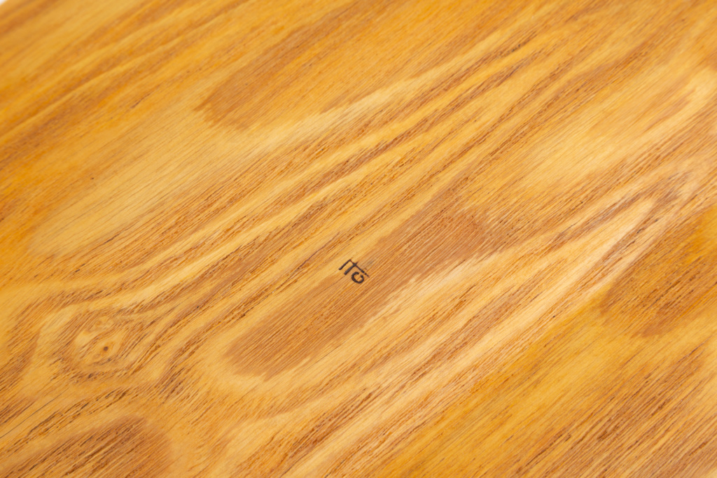"""ID a Japanese (??) Wooden Tray - Midcentury Signed """"Ito Studio11"""