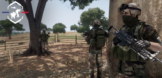 promotion et l'histoire de l'armée française par le jeu vidéo  Parach10
