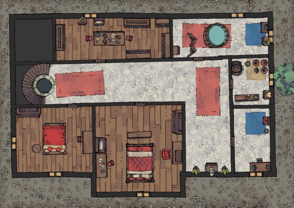 Plans pour ROLL20 210