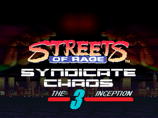 SYNDICATE CHAOS 3 - THE INCEPTION Titlep11