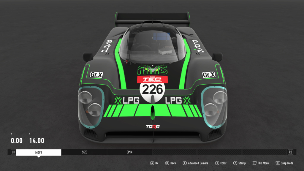 TEC R4 24 Heures du Mulsanne - Livery Inspection - Page 6 Bbb9a710