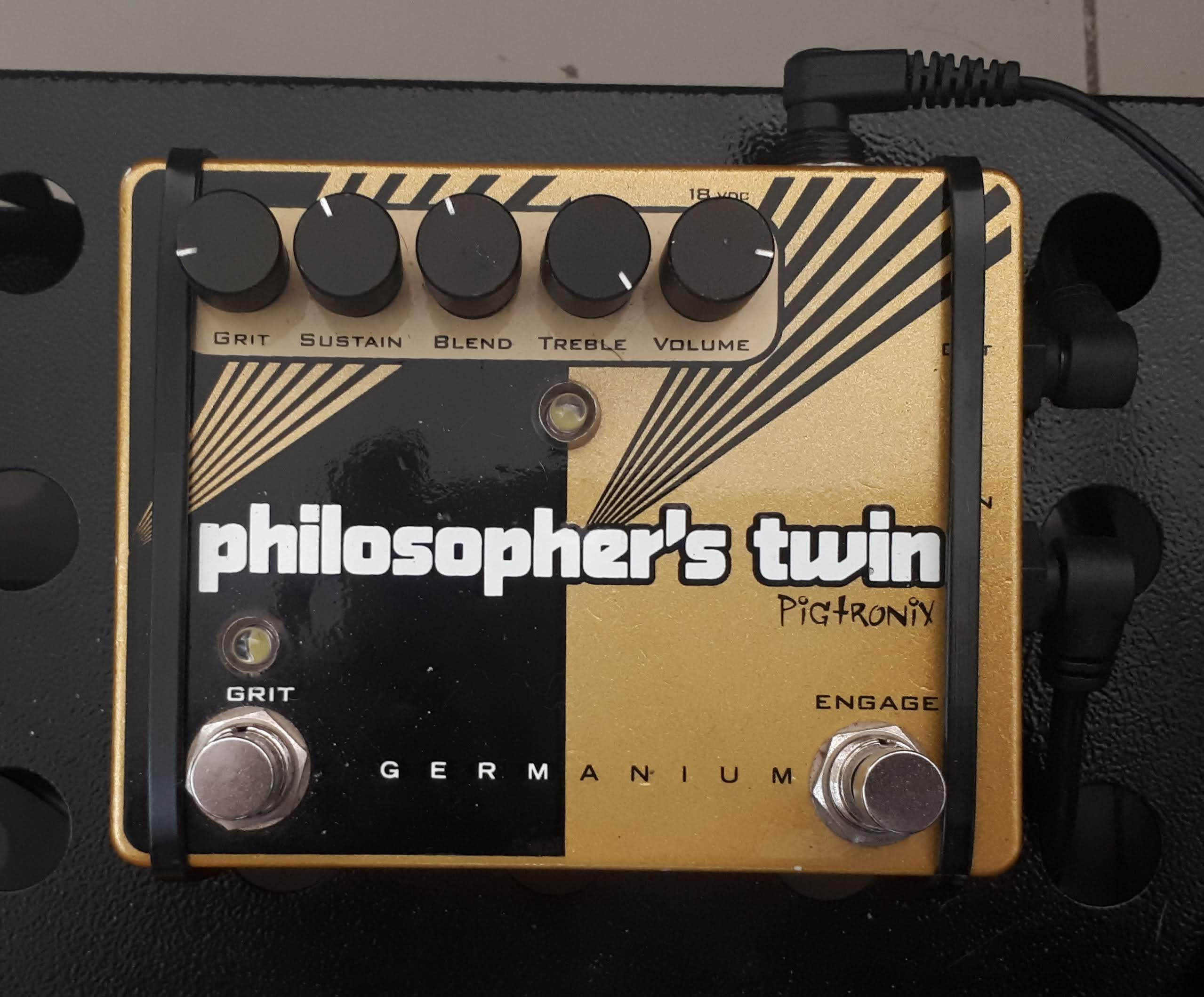 Pigtronix Philosopher's Twin - Compressor/Limiter/Sustainer/Overdrive 20190221