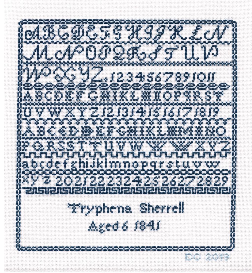 SAL Thryphéna Sherrell 1841 d'Histoire de Lin Prochaine photo le 20 Aoüt Tryphe10