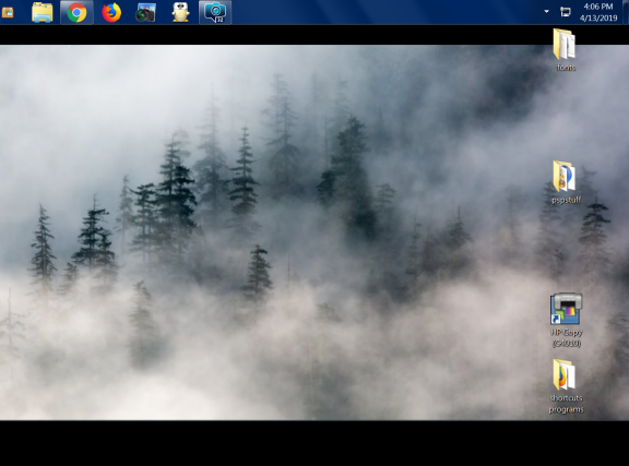 what is on your desktop Aprilf10
