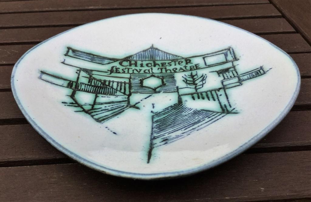 Chichester Festival Theatre dish - Kenneth Clark Img_7310