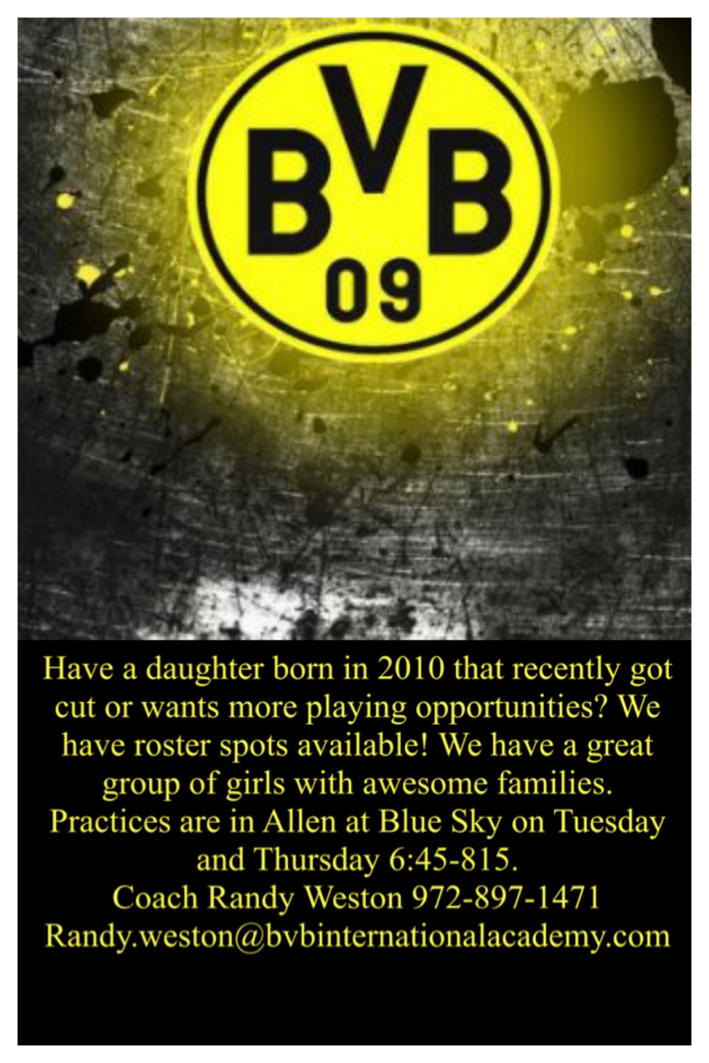 BVB 2010G looking for teammates 14888f10