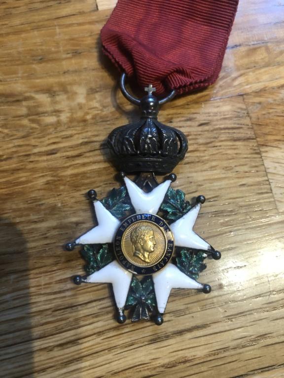 Identifications de médailles et objets 18 eme B7344510