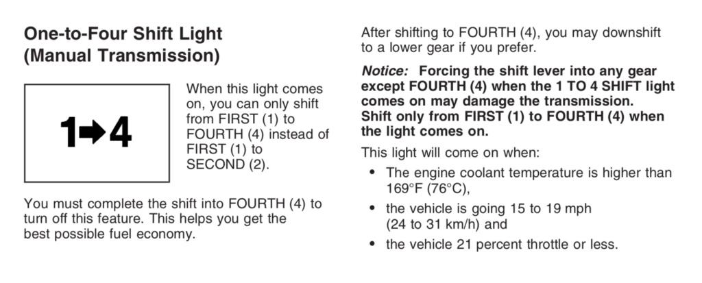 C6 Z06 : passage vitesses dificilles a froid ???? Captur11