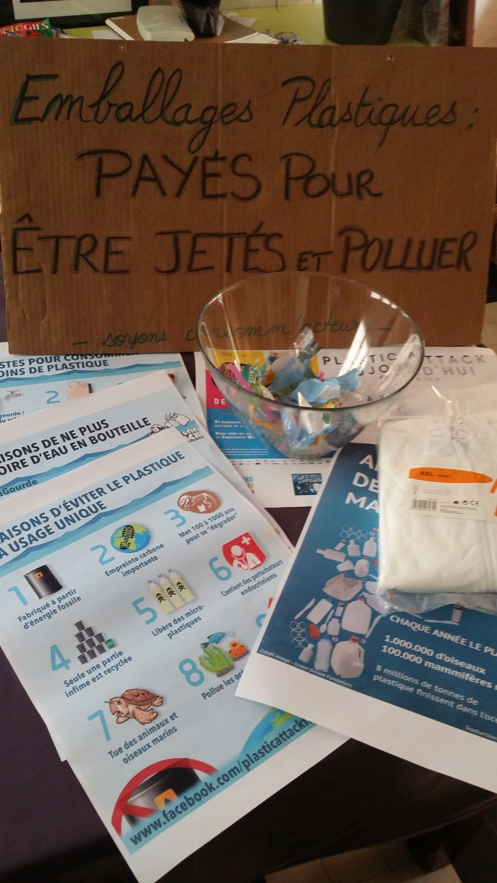 21/09/19 des plastics attacks en co-organisation avec le World Clean Up Day Ardennes  20190910