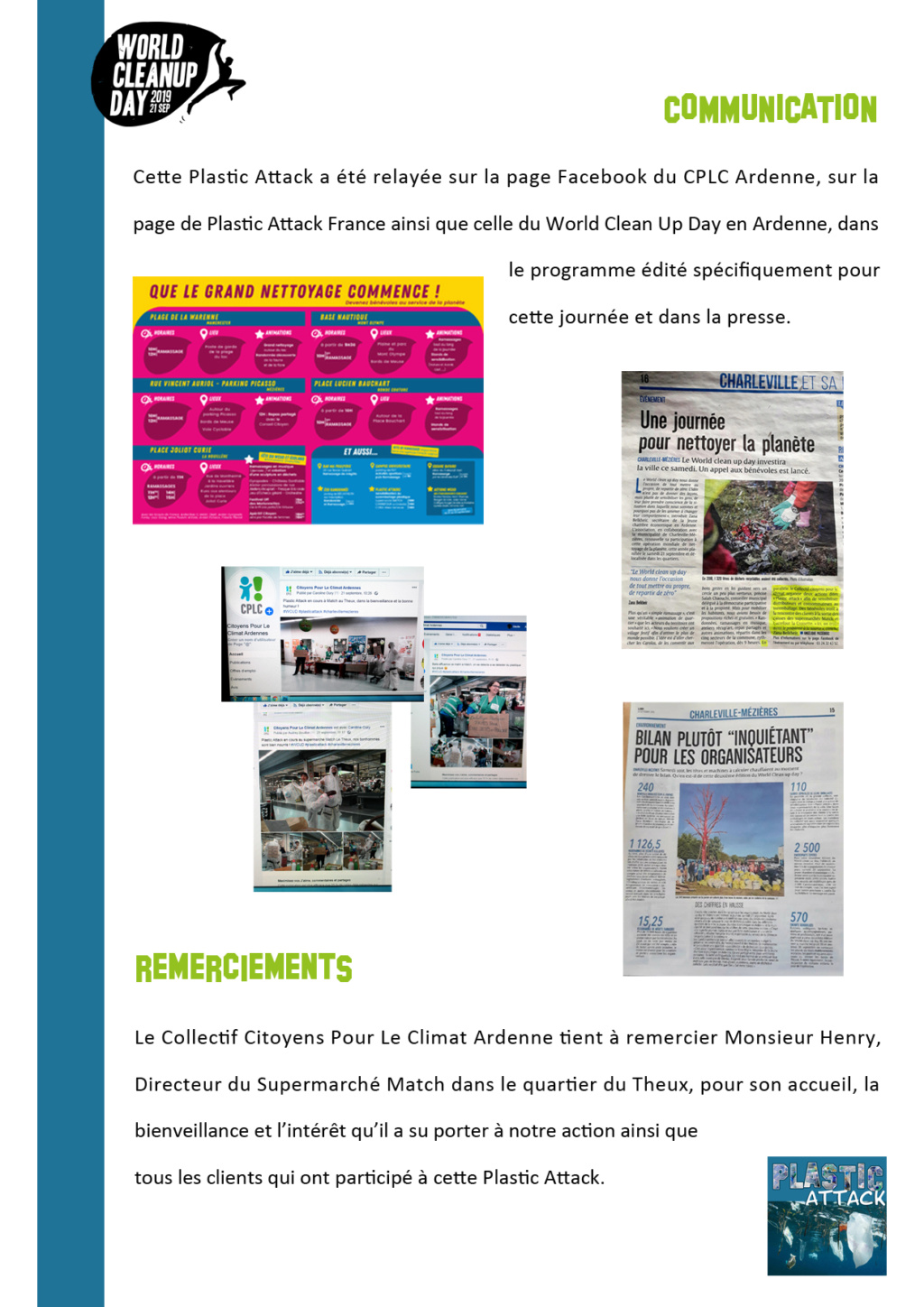 21/09/19 des plastics attacks en co-organisation avec le World Clean Up Day Ardennes  - Page 2 Bilan_14