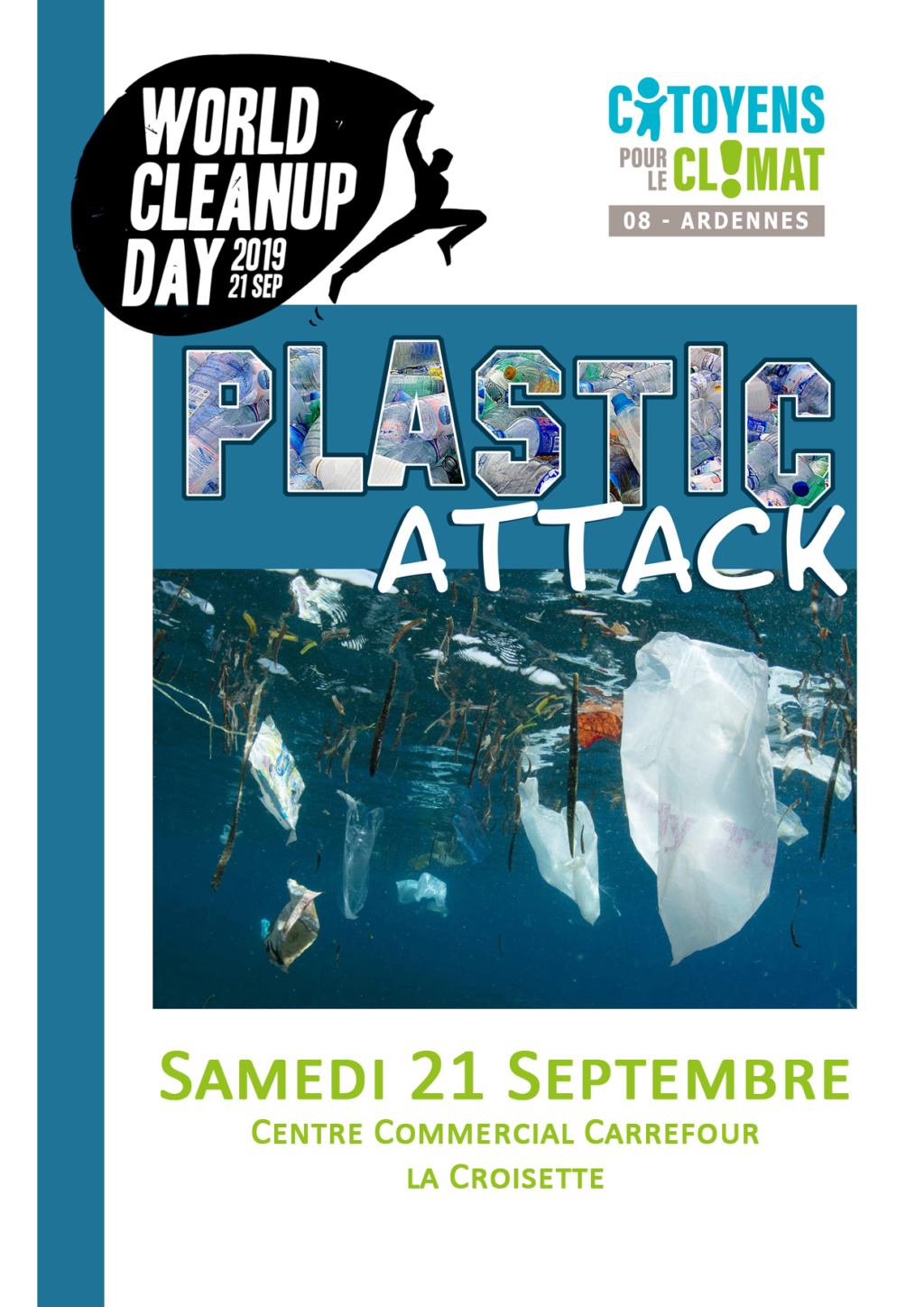 21/09/19 des plastics attacks en co-organisation avec le World Clean Up Day Ardennes  - Page 2 Bilan_21
