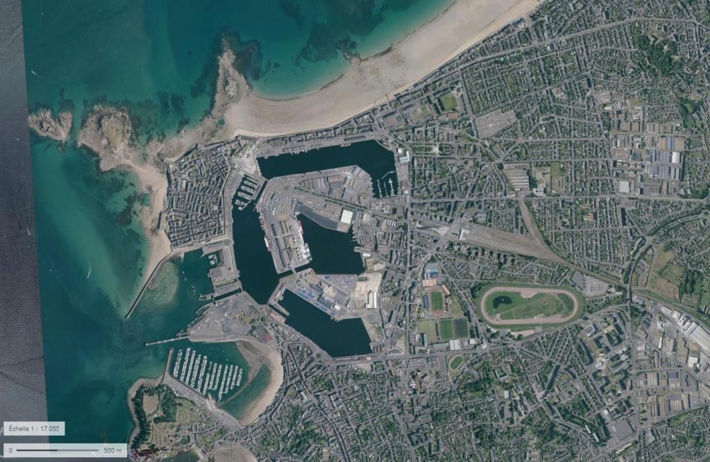 Saint-Malo juillet/Août 1944 - 2020  / Photogrammétrie-Satellite 1111