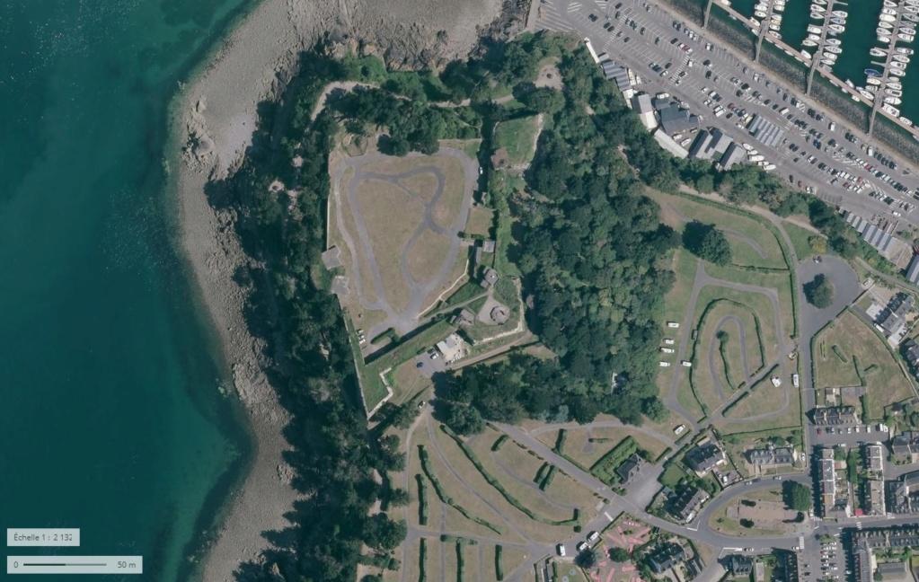 Saint-Malo juillet/Août 1944 - 2020  / Photogrammétrie-Satellite 4110