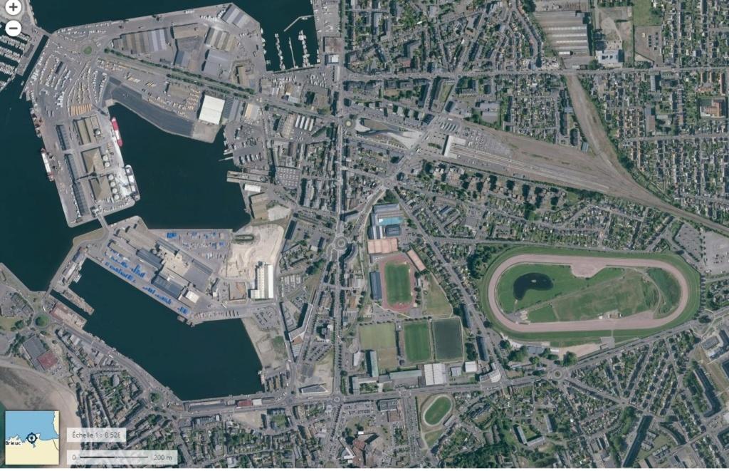 Saint-Malo juillet/Août 1944 - 2020  / Photogrammétrie-Satellite 5110