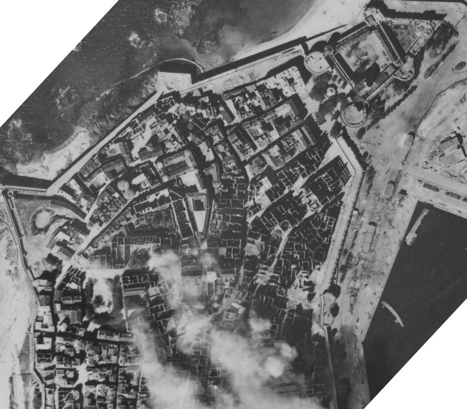 Saint-Malo juillet/Août 1944 - 2020  / Photogrammétrie-Satellite 613-0810