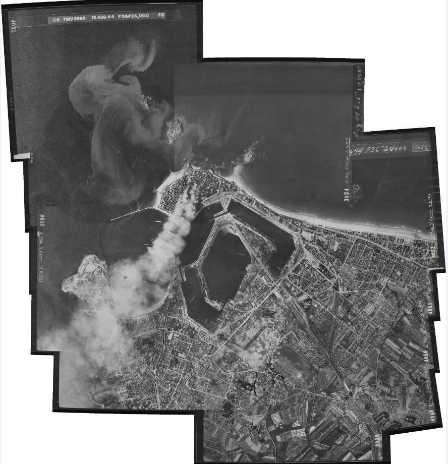 Saint-Malo juillet/Août 1944 - 2020  / Photogrammétrie-Satellite Global12