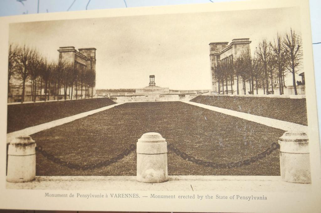 Cartes postales les monuments du souvenir 14-18 Monume18