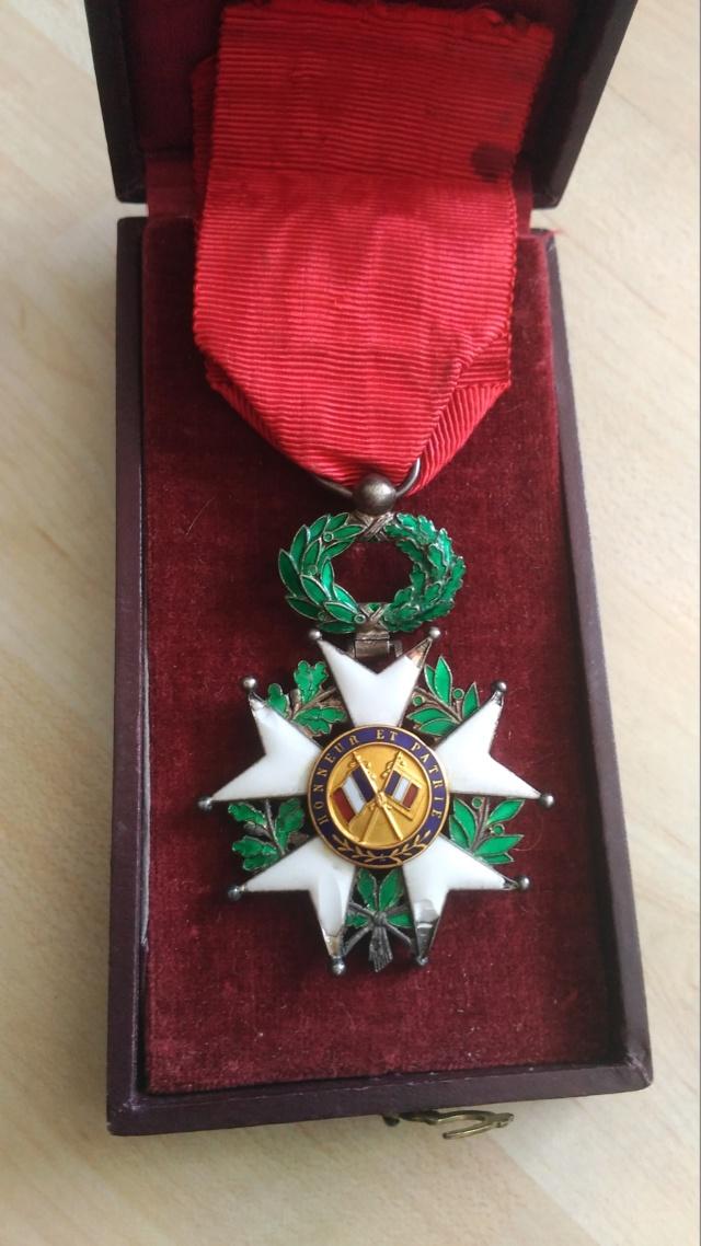 Billets et ma première Légion d'Honneur P_201927
