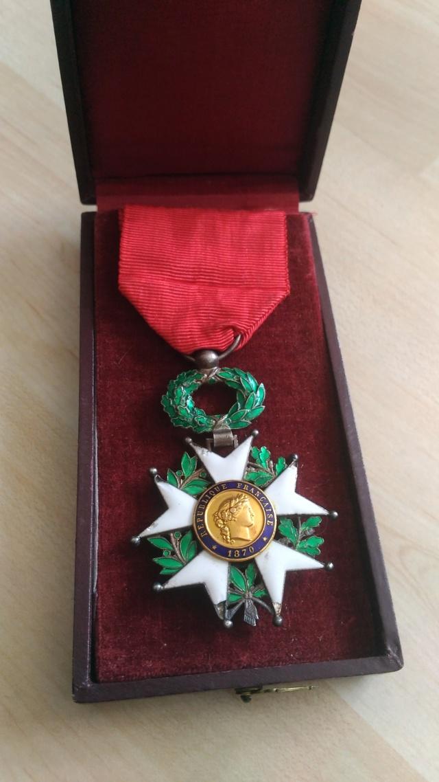 Billets et ma première Légion d'Honneur P_201928