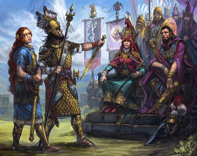 Personnages clés du royaume de Sartar Kallyr10