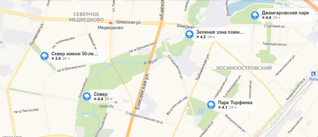 Лосиноостровский вошёл в число лучших районов Москвы по экологическим показателям U4uayx10