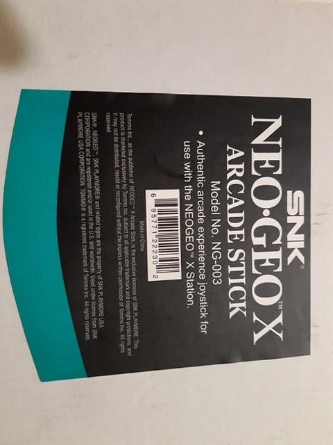 Avis et utilité Stick Arcade Neo Geo X 84957210