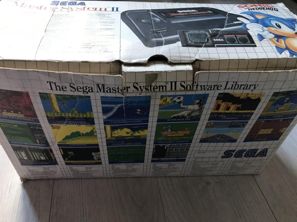[VDS] Lot Console Master System II en boite + 17 jeux en boites - FUTUR DELOTTAGE Img_0132