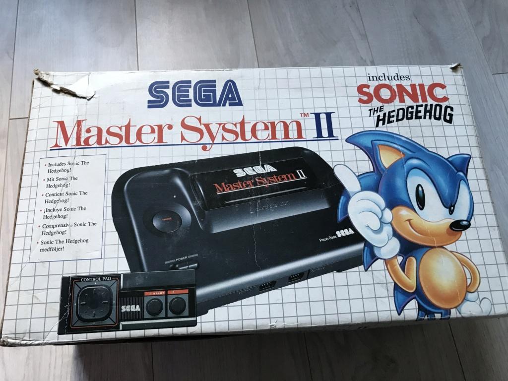 [VDS] Lot Console Master System II en boite + 17 jeux en boites - FUTUR DELOTTAGE Img_0133